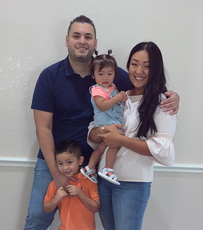 The Martinez family attend Primrose School of Barker Cypress located in Cypress, Texas 77429.