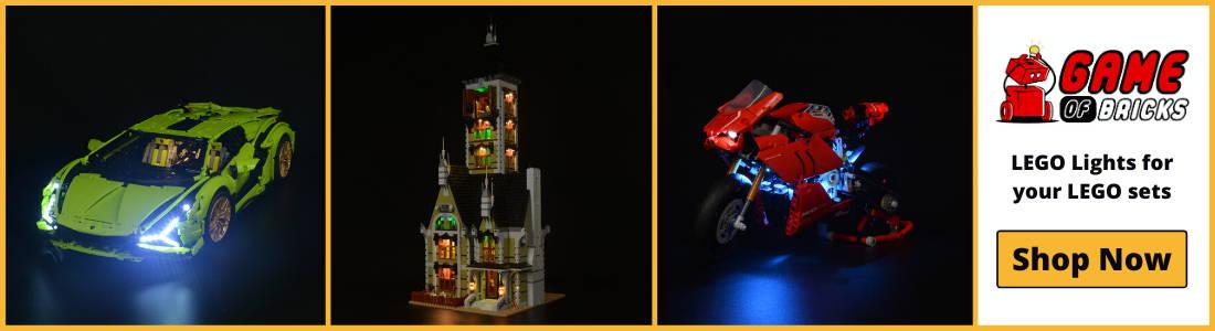 Game of Bricks LEGO Lights