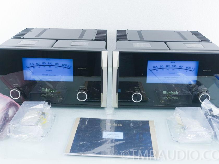 McIntosh MC601 Mono Power Amplifiers; Excellent Pair (9342)