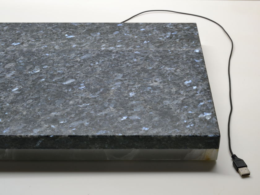 "Platform Blue Pearl 14.5""x18"" Devices Stone Isolation Platform"