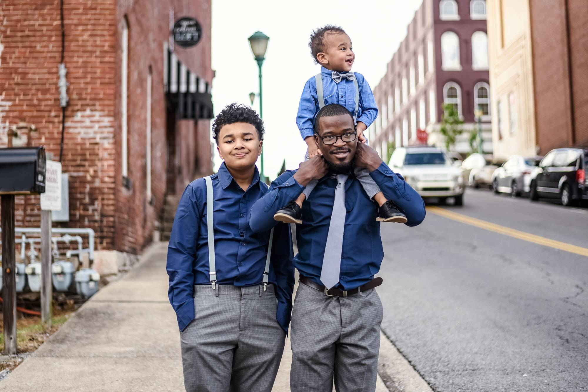 Father Son Matching Necktie & Bow Tie