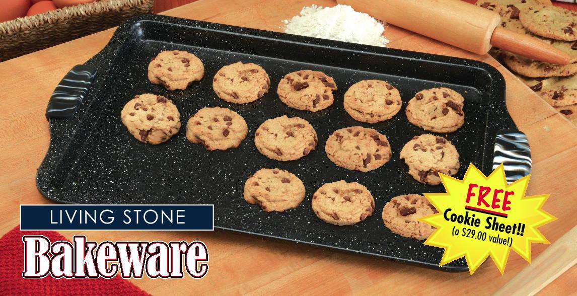 Living Stone Bakeware Free Cookie Sheet