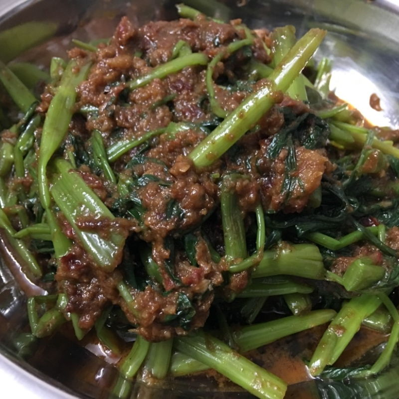 Today tried kangkung... ;))