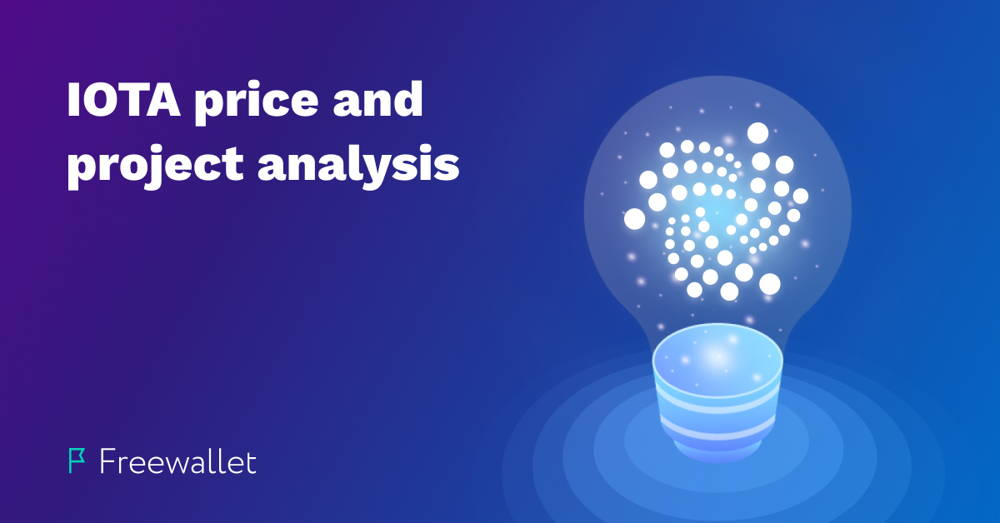 IOTA price prediction, analysis and project review