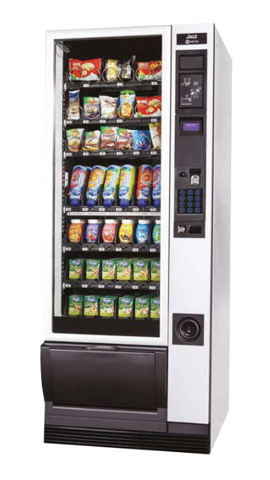 contactless cold drinks snacks vending machine