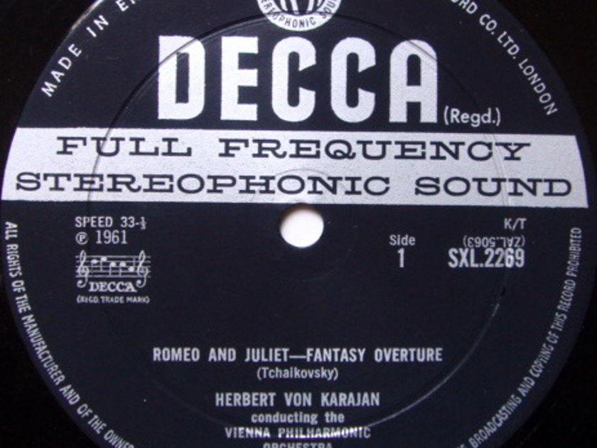 DECCA SXL-WB-ED2 / KARAJAN, - Tchaikovsky Romeo & Juliet-Fantasy Overture, NM-!