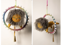Hand-Crafted Child's Mobile by Nichol Brinkman - Pink Cheek Studios