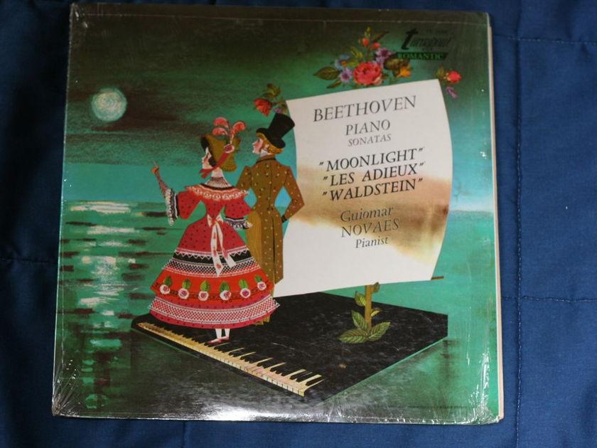 "Beethoven Piano Sonatas   - ""Moonlight"" ""Les Adieux"" ""Waldstein"" TV 34242"