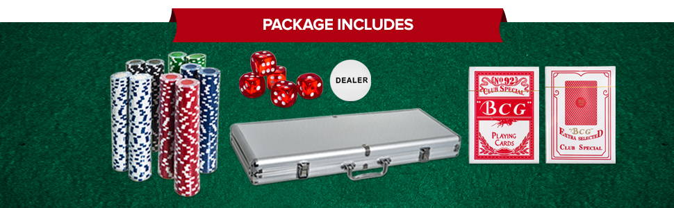 Package Includes