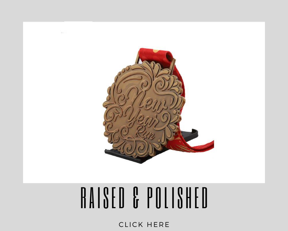 Custom Raised & Polished Corporate Medallions