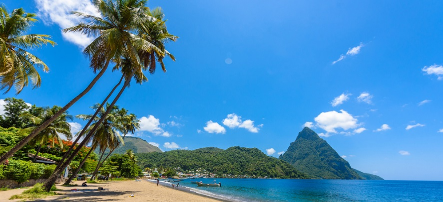 Luxembourg - Soufriere Bay St Lucia