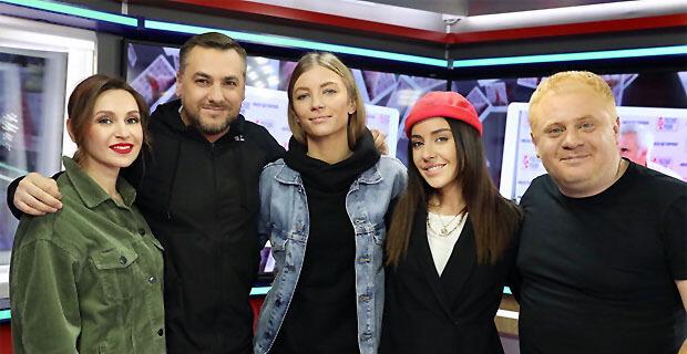Участницы дуэта #2Маши в гостях у «Русских Перцев» - Новости радио OnAir.ru
