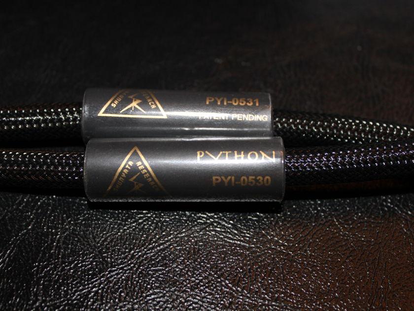 Shunyata Research Python Interconnect XLR Zitron 1 Meter