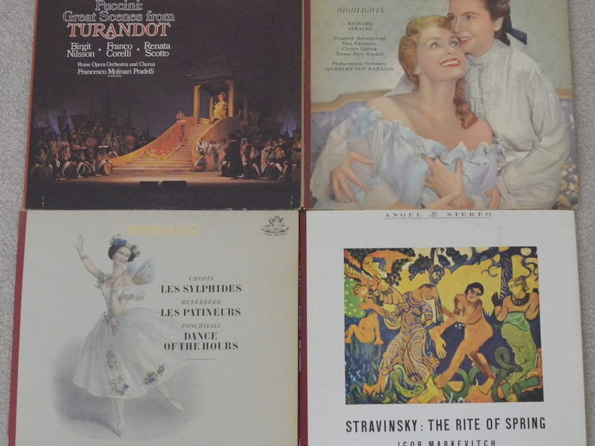 Lot of 24 Stereo Classical Albums