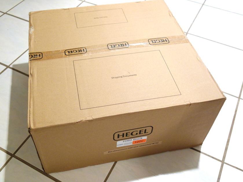 Hegel H360 World Class Integrated Amplifier / Built in DAC / Ethernet