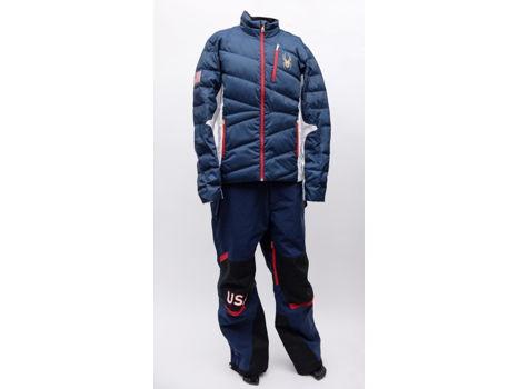 Men's Olympic Alpine Team Uniform by Spyder, jacket size L, pants size L