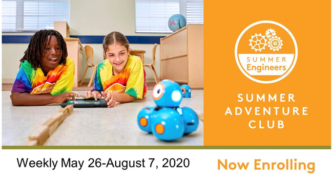 Now Enrolling-Summer Camp