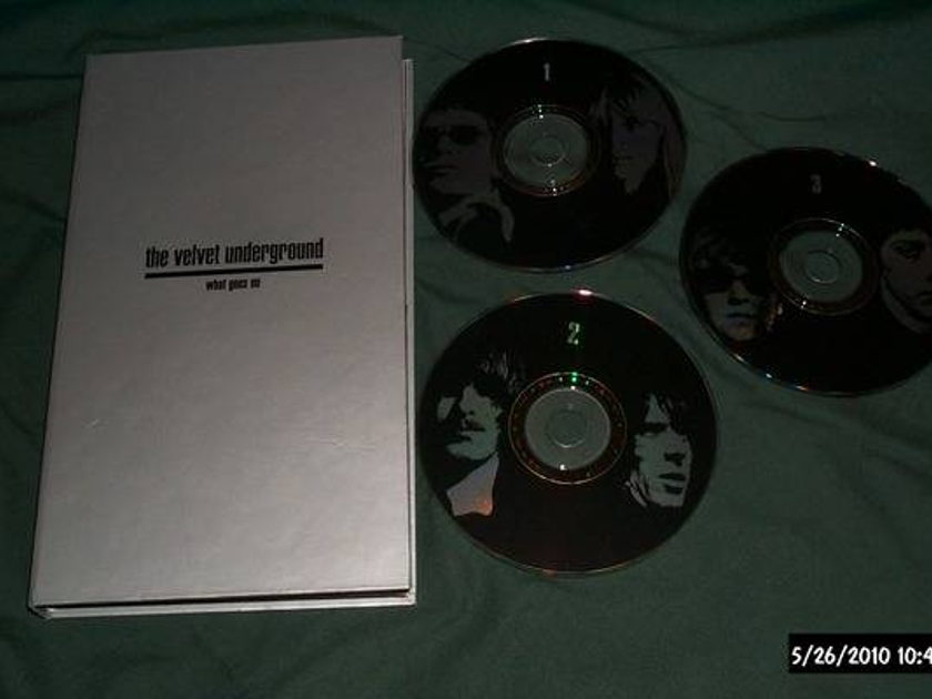 Velvet Underground - What Goes On rare 3 cd set