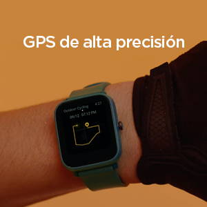 Amazfit Bip U Pro - GPS de alta precision
