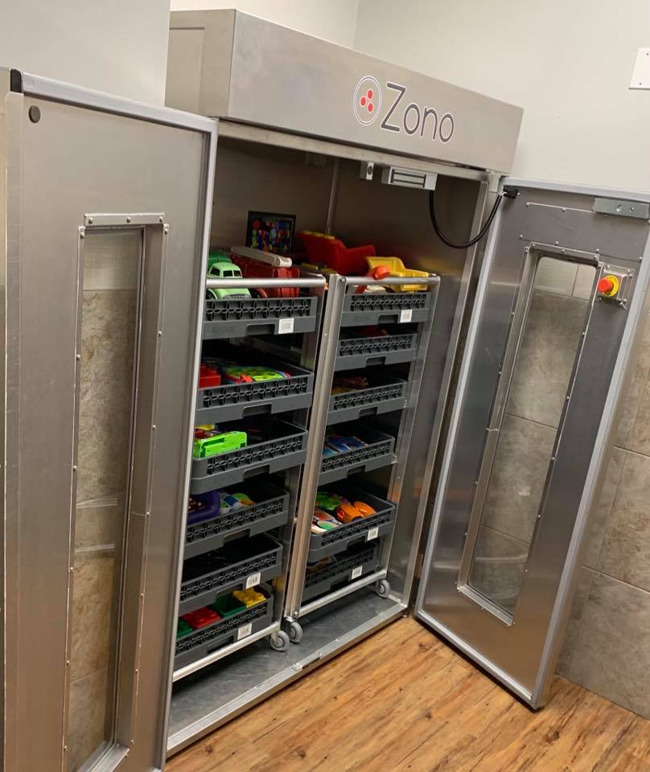 Preschool health and safety, childcare health and safety, daycare healthy and safety, ZONO sanitizer and disinfecting cabinet