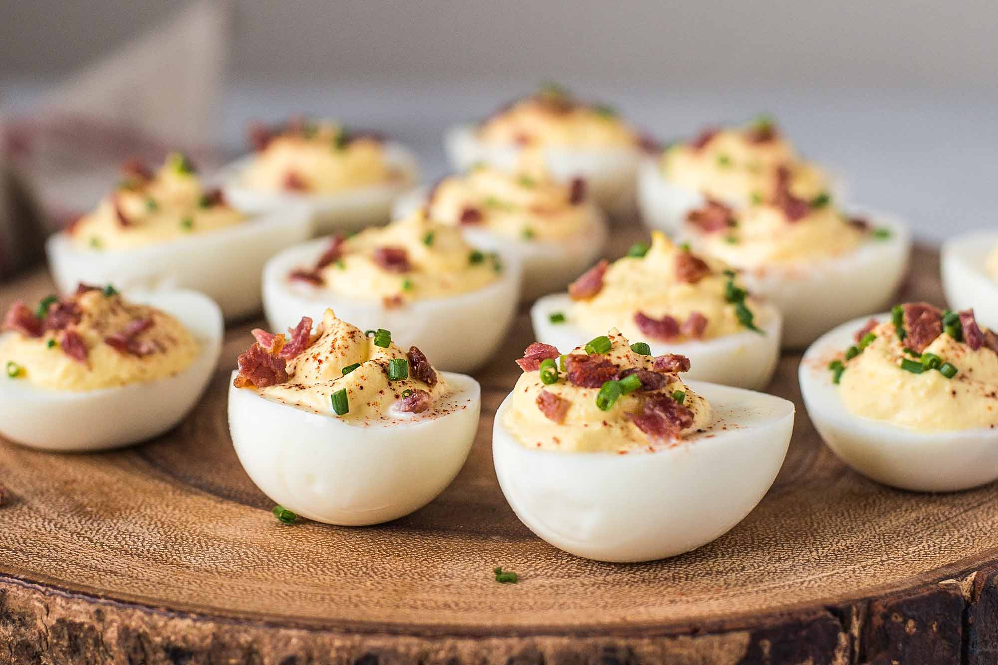 Deviled Eggs Summer Appetizer Recipe