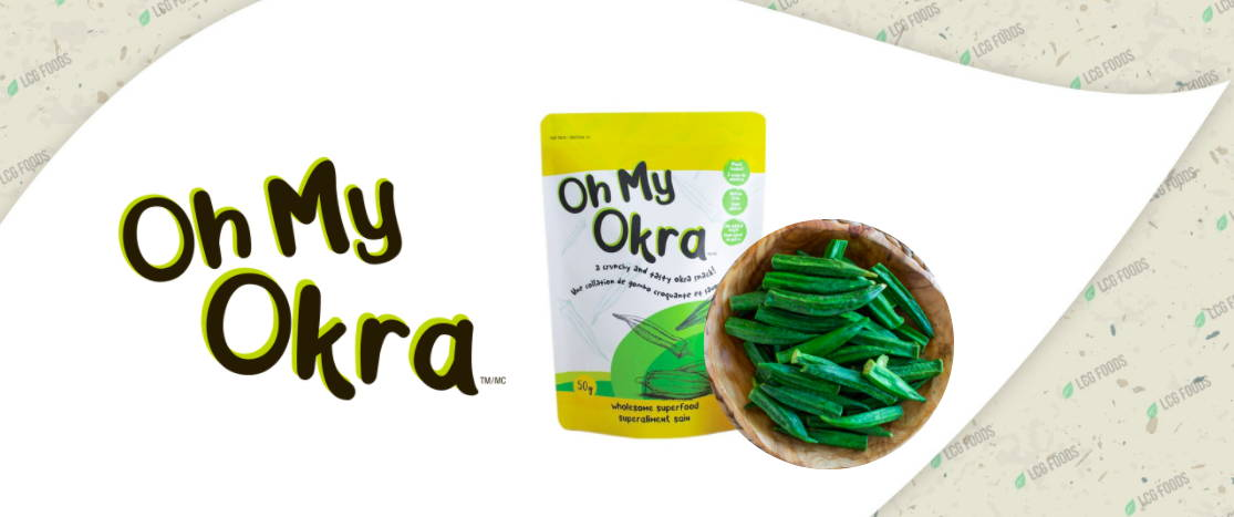 Oh My Okra crunch superfood healthy snack