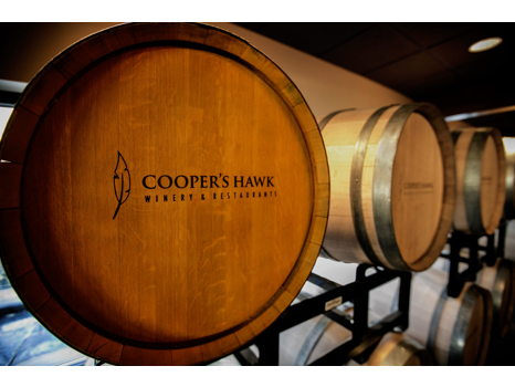 Wine tasting for 4 from Cooper's Hawk