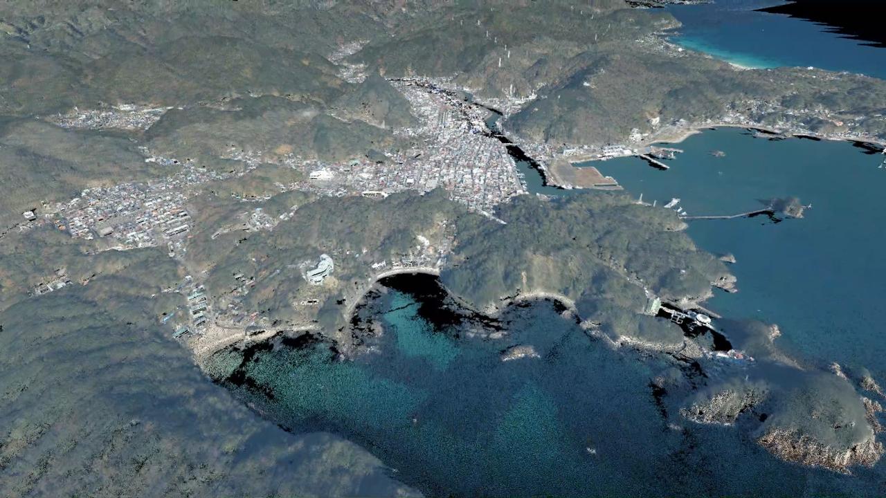 静岡県の点群データ