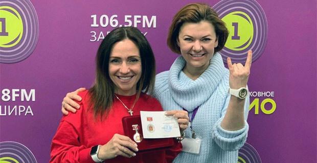 Журналистка «Радио 1» Мира Алекса удостоена награды Московской области - Новости радио OnAir.ru