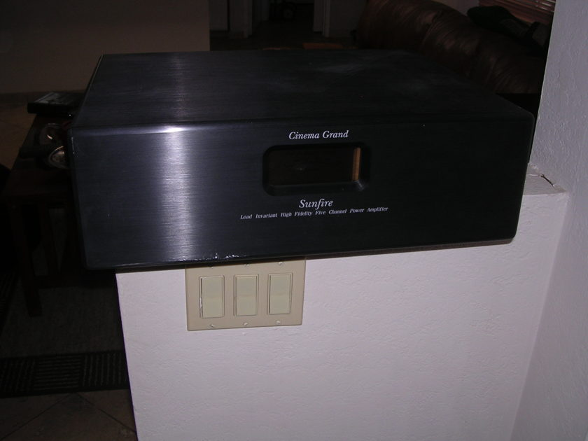 Sunfire Cinema Grand 5 Channel Power Amplifier