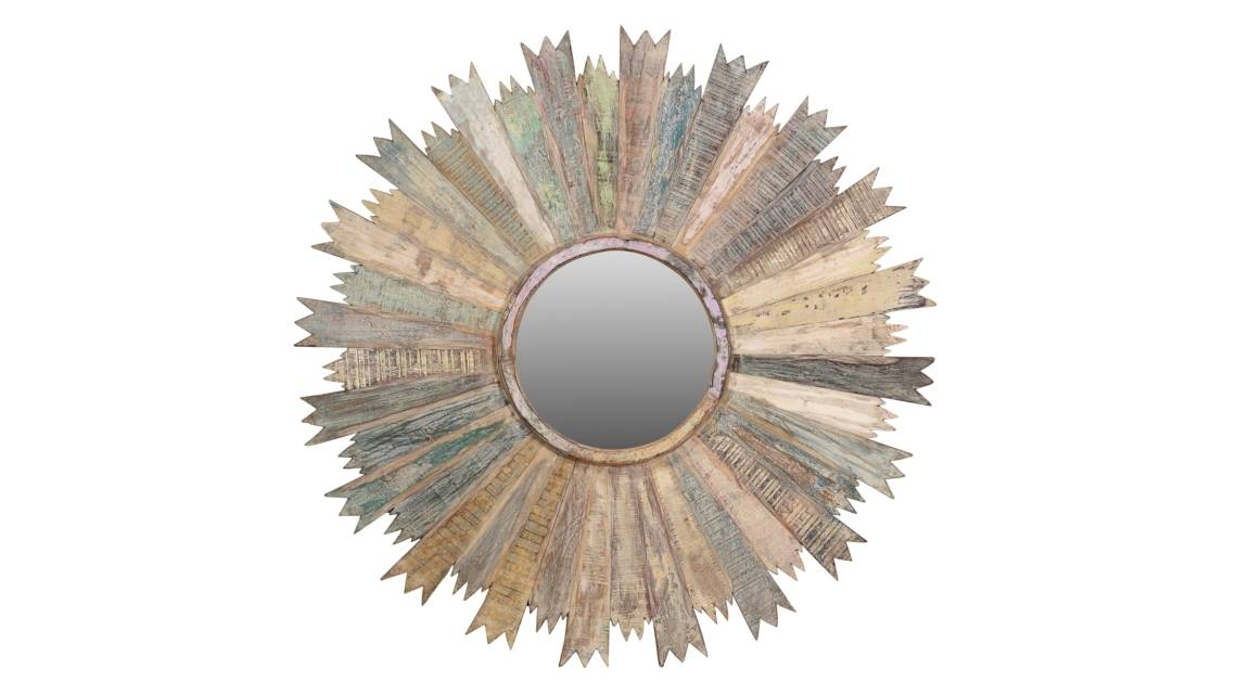 Round Oriental Mirrors | Indigo Antiques
