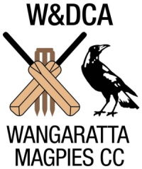 Wangaratta Magpies Cricket Club Logo