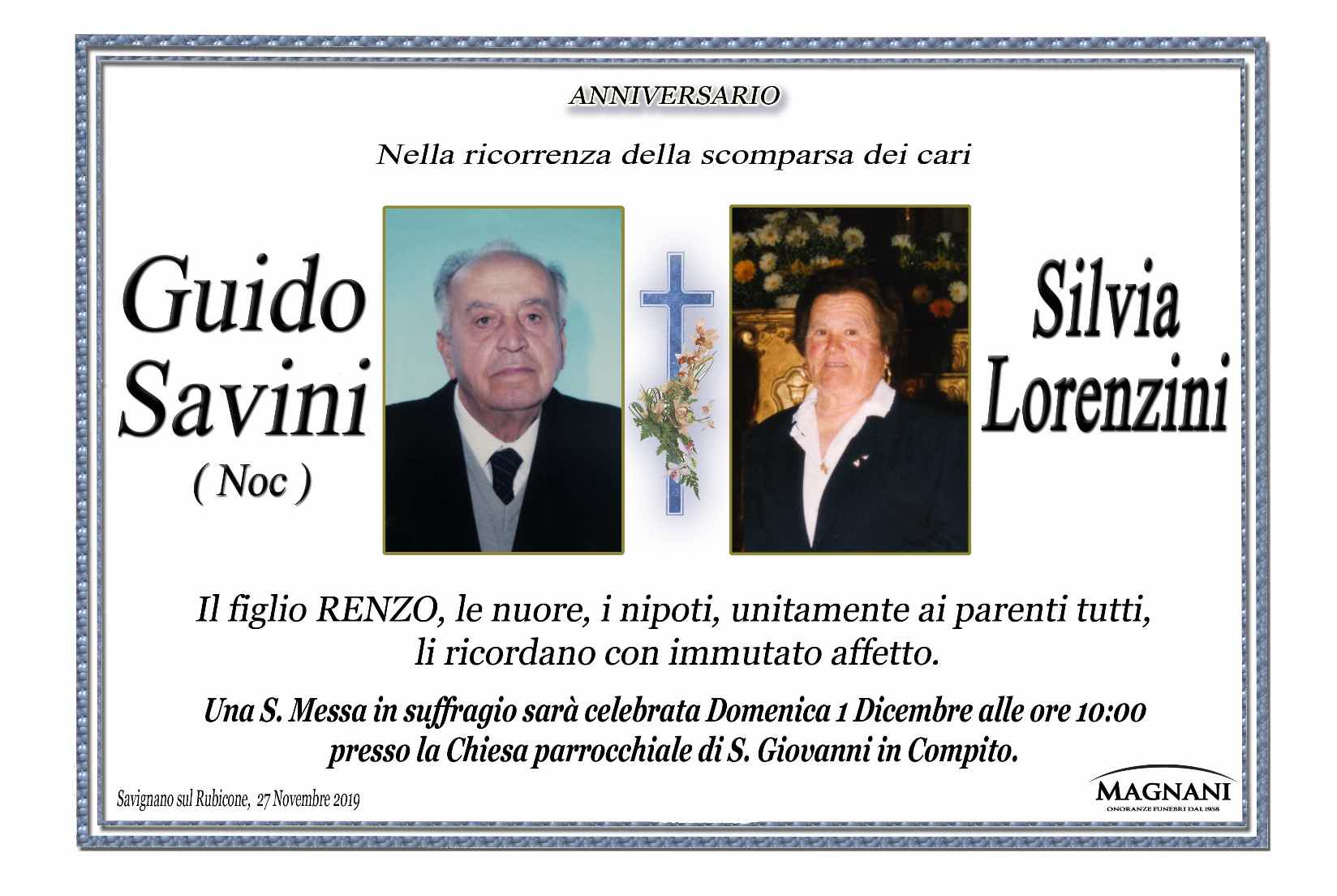 Anniversario Savini Lorenzini
