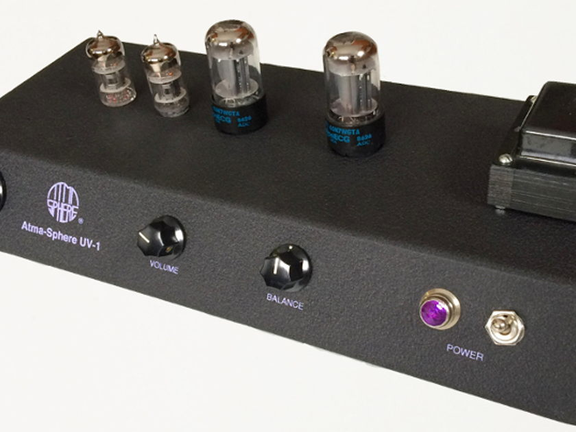 Atma-Sphere UV-1 (UltraViolet) Tube Preamp AMAZING TUBE PRE-AMP!