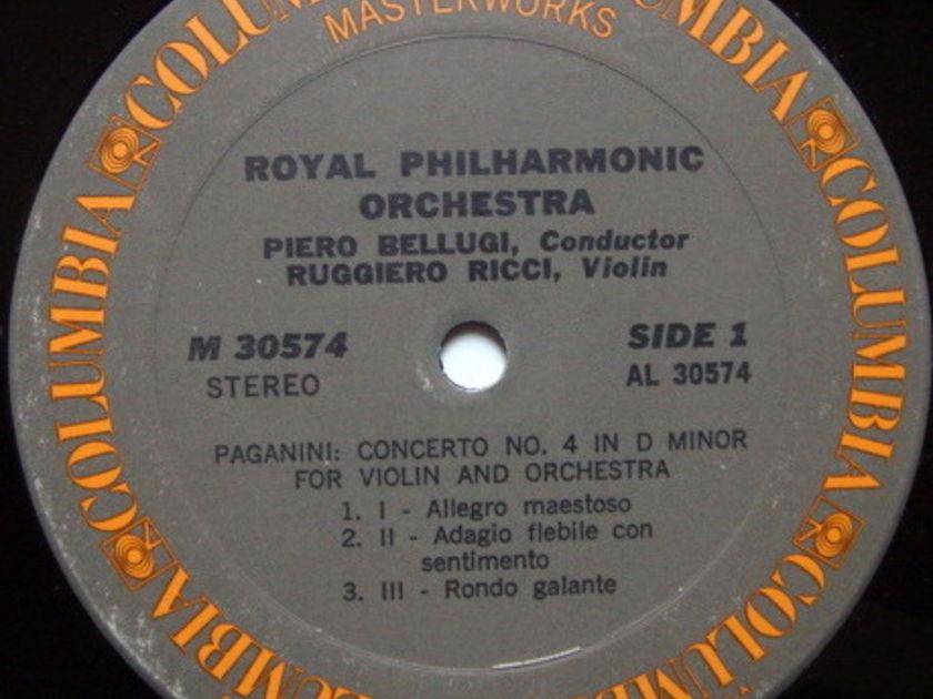 Columbia / RUGGIERO RICCI, - Paganini Violin Concerto No.4, MINT!