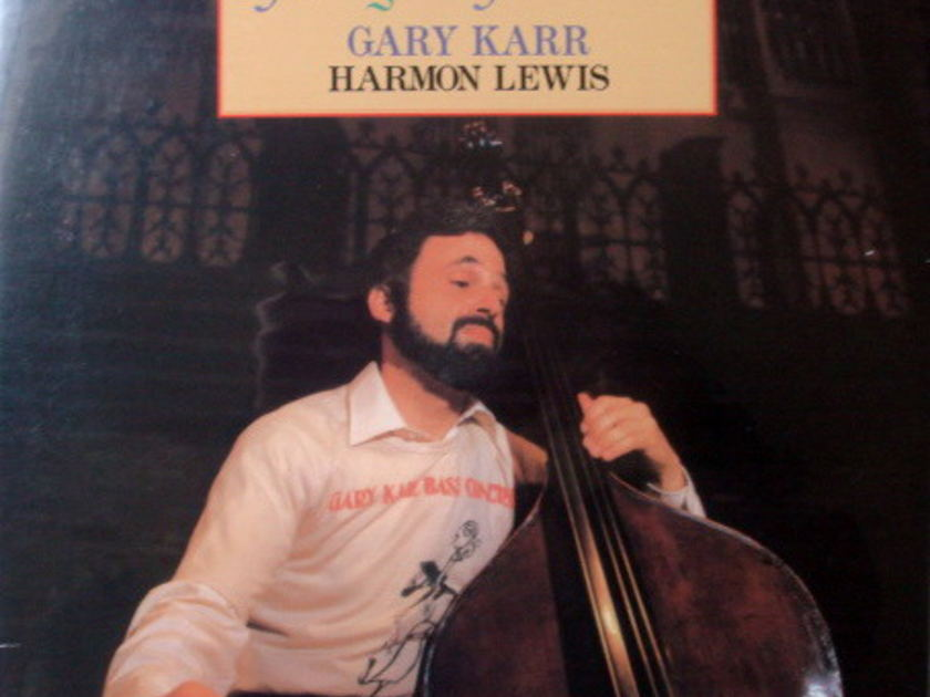★Sealed Audiophile 180g-45RPM★ Impex Records/  - GARY KARR, Adagio d'Albinoni, 2LP Set!