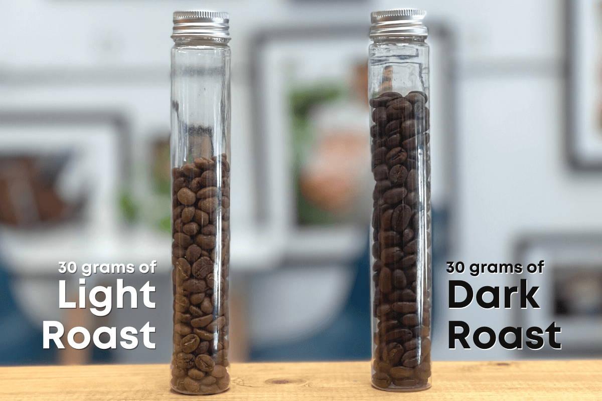 30 grams of coffee comparison