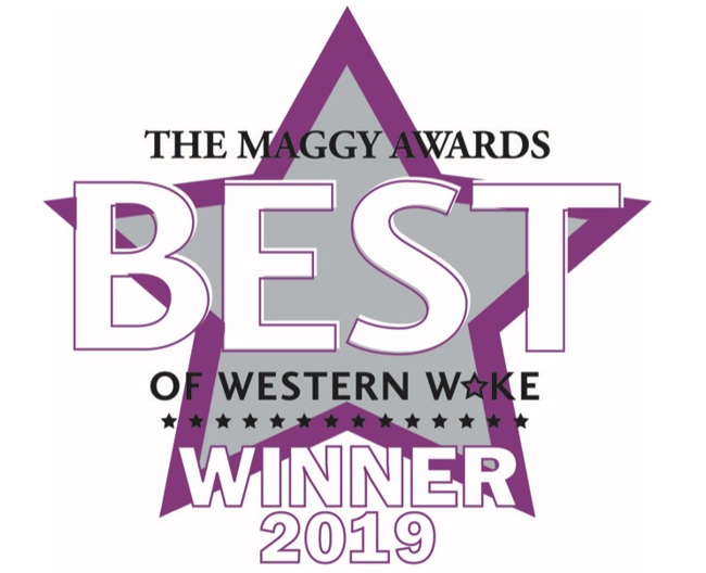 Best of Western Wake winner logo