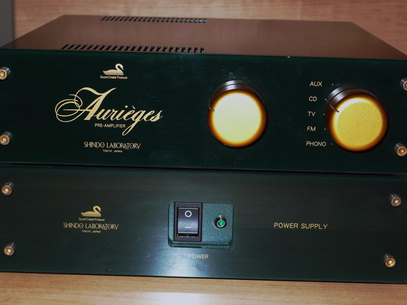 Shindo Aurieges-MM with phono