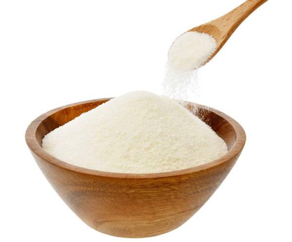 Balts kolagēna pulveris