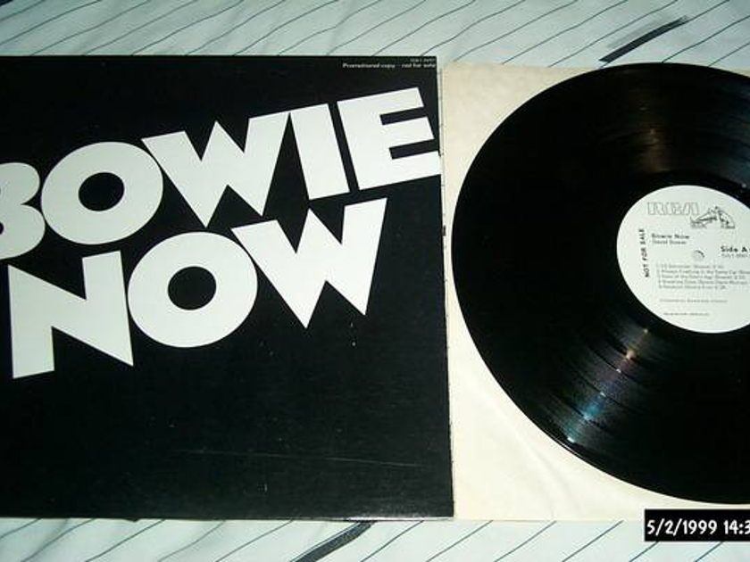 David bowie - Bowie Now rare promo lp nm