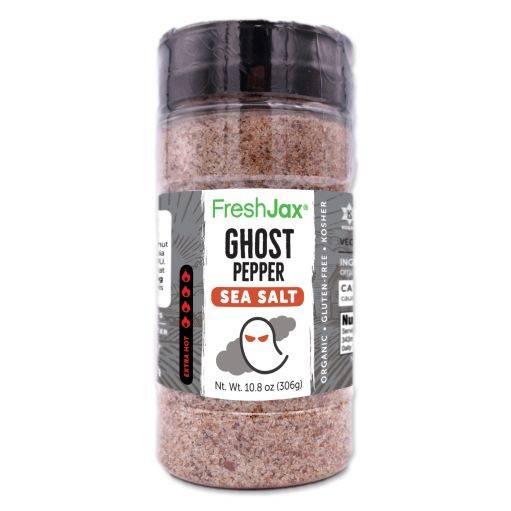 Ghost Pepper hot Sea Salt FreshJax Spices