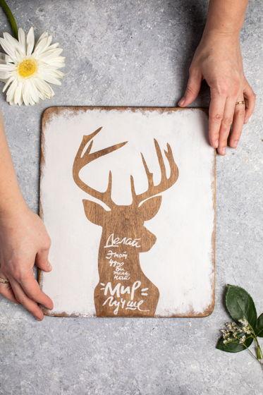 Декоративная табличка для фуд фото