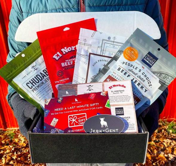 Beef Jerky Subscription Box Gift Idea