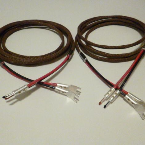 Schmitt Custom Audio 4mm 6N OCC Copper Speaker Cables