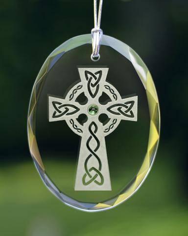 Healy Glass Artistry Celtic Festival Online  Celtic Cross Ornament
