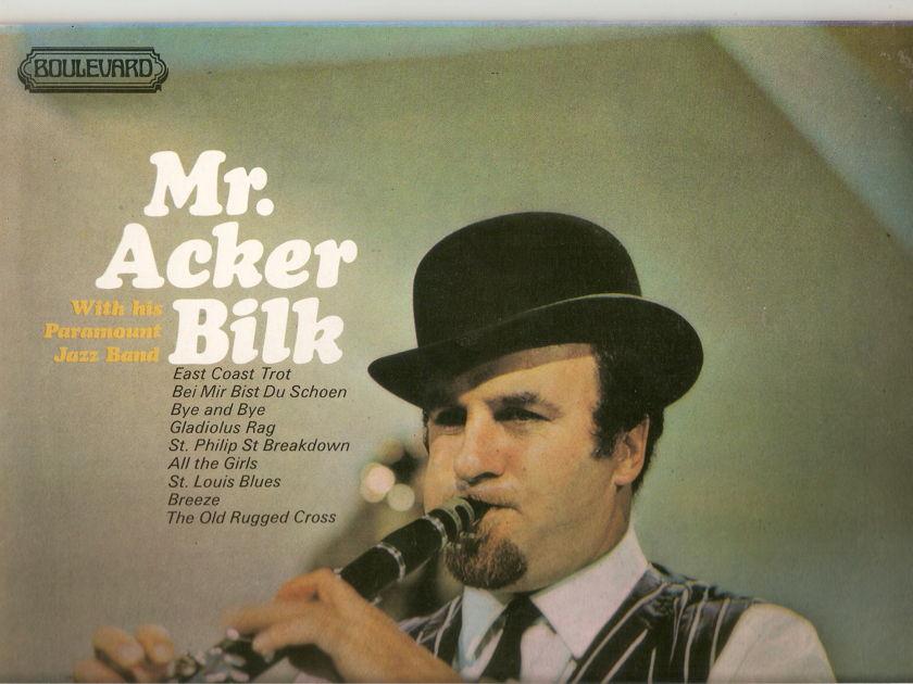 ACKER BILK - MR ACKER BILK WITH HIS PARAMOUNT JAZZ BAND