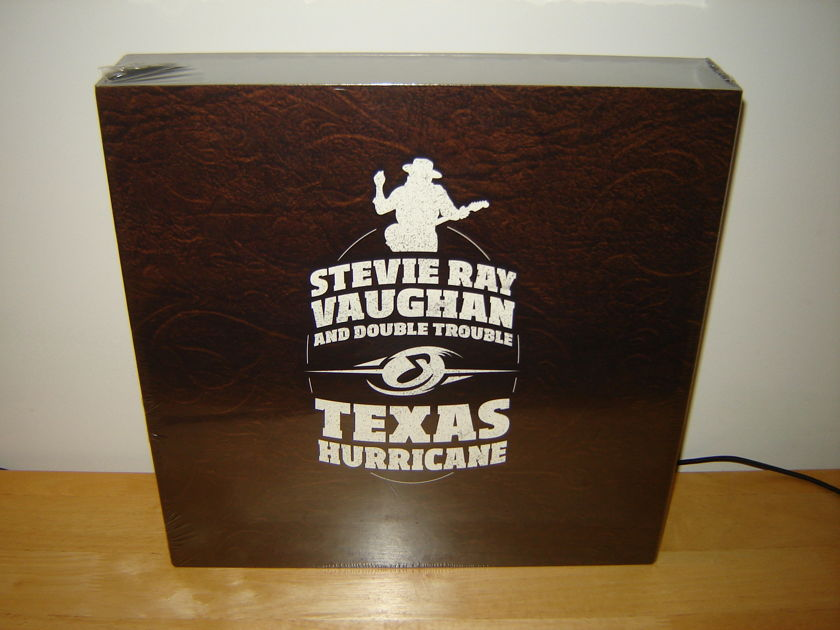 Stevie Ray Vaughan - Texas Hurricane SACD box (Analogue Productions)