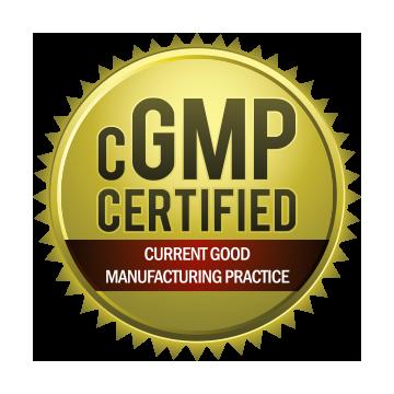 cGMP certified FDA trust