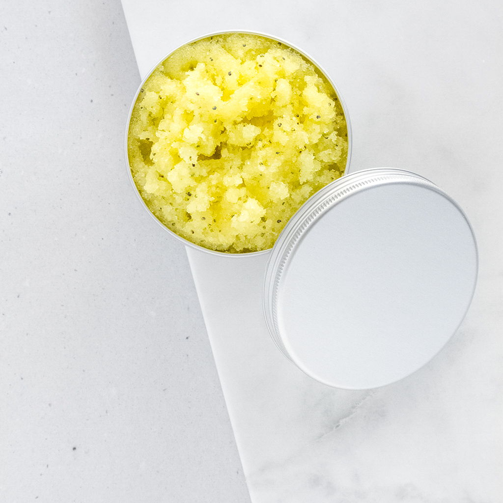DIY Kurkuma Limetten Kokos Scrub
